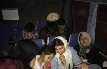 27 düzensiz göçmen yakalandı