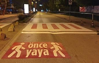 'Önce Yaya' kampanyasına destek