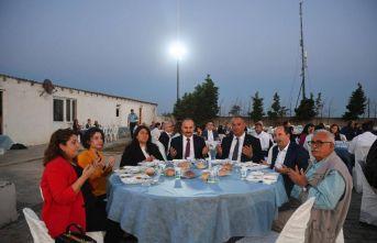 Vali Canalp iftar programına katıldı