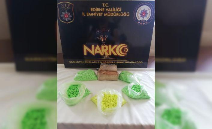 Edirne'de uyuşturucu operasyonu!