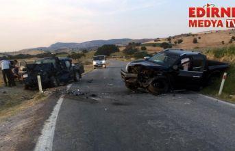 Feci kaza; 1 ölü, 7 yaralı