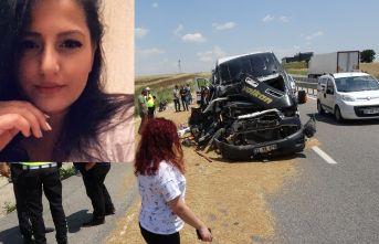 Kazada yaralanan genç kız kurtarılamadı