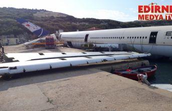 Saros Körfezi'nde batırılacak uçağın montajı tamamlandı