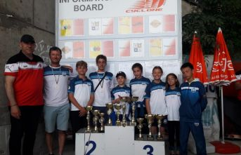 Bulgaristan'da birinci oldular