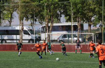 11 Yaş Altı Futbol Turnuvası başladı
