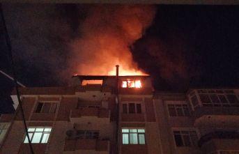 Binanın çatısı nasıl yandı ?