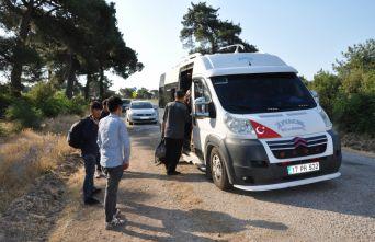 51 düzensiz göçmen yakalandı