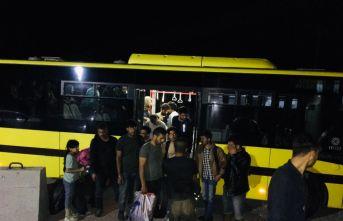 91 düzensiz göçmen yakalandı