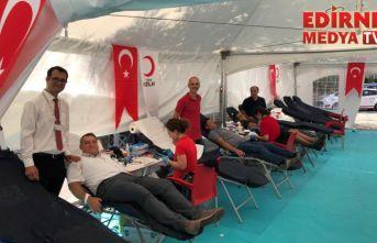 124 ünite kan bağışlandı