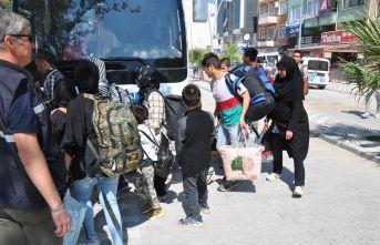 28 düzensiz göçmen yakalandı