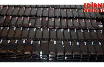 3 bin 660 kaçak cep telefonu ele geçirildi