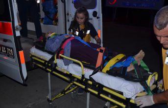 4 Kişi yaralandı