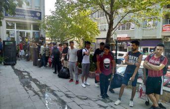 67 düzensiz göçmen yakalandı