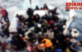 1083 düzensiz göçmen yakalandı