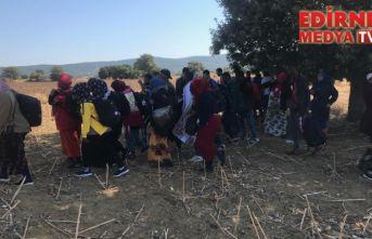 32 düzensiz göçmen yakalandı