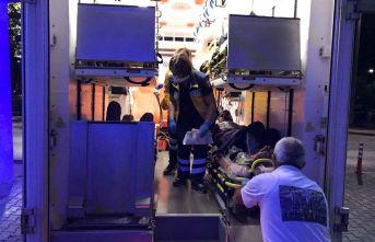 5 düzensiz göçmen yaralandı