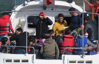 92 düzensiz göçmen yakalandı