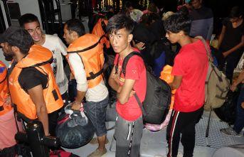 97 düzensiz göçmen yakalandı