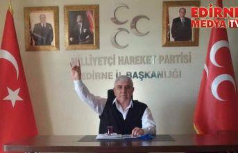 Edirne MHP İl Başkanlığında değişim