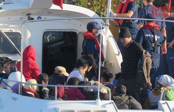 206 düzensiz göçmen yakalandı