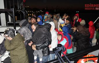 96 mülteci yakalandı