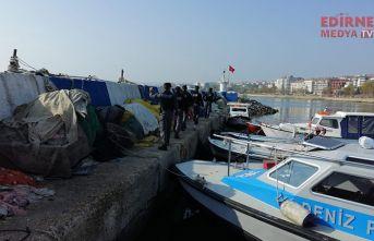 Marmara Denizi'nde trol avcılığı