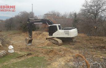 Çalınan iş makineleri Edirne'de bulundu