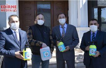 Binalar günde 5-6 kez dezenfekte edilecek