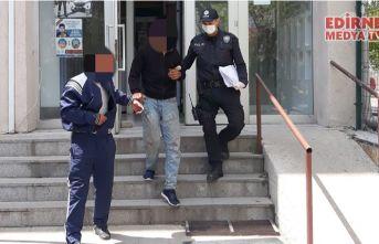 Hırsızlık yapan 2 kişi tutuklandı