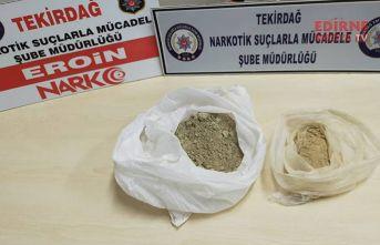 311 gram eroin ele geçirildi