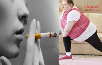 Hem sigara içen, hem Obez sayısı artıyor
