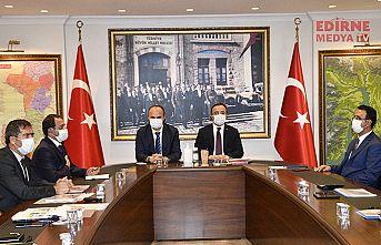 İçişleri Bakan Yardımcısı Çataklı Edirne'de