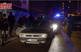 Edirne'de filmleri aratmayan kovalamaca!