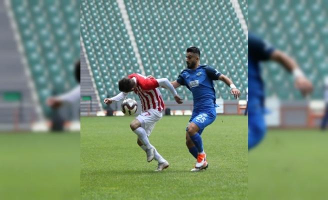 Ergene Velimeşespor: 1 - Nevşehir Belediyespor: 0