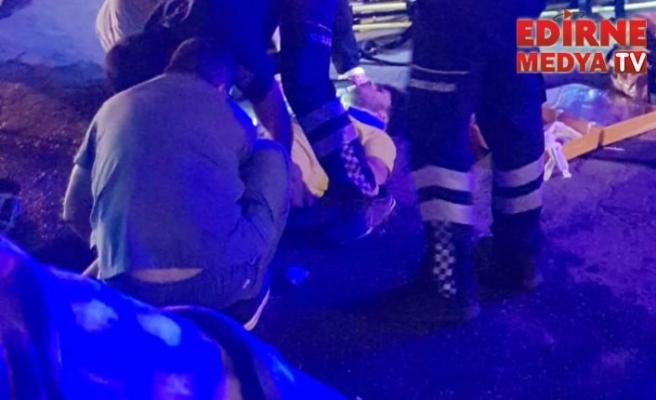 1 kişi yaralandı