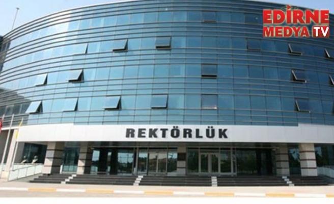 Trakya Üniversitesi kınama yayınladı