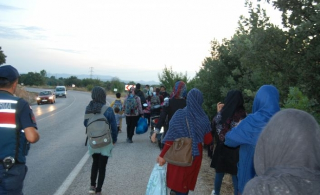 45 düzensiz göçmen yakalandı