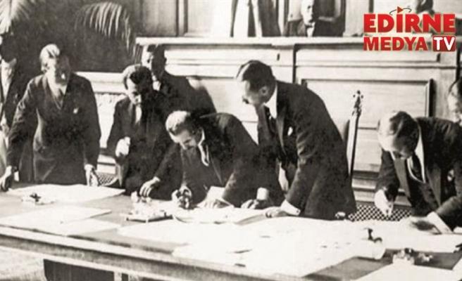 Lozan Barış Antlaşması 96 yaşında...
