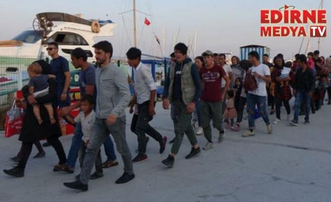 165 düzensiz göçmen yakalandı