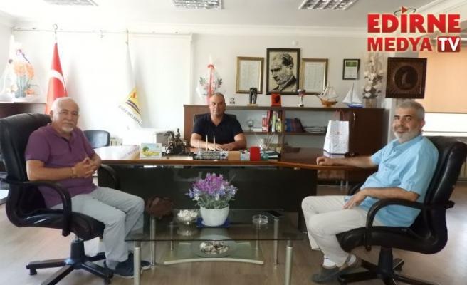 Gazetecilerden Başkan Günenç'e ziyaret