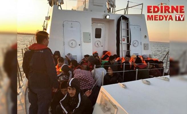 66 düzensiz göçmen yakalandı