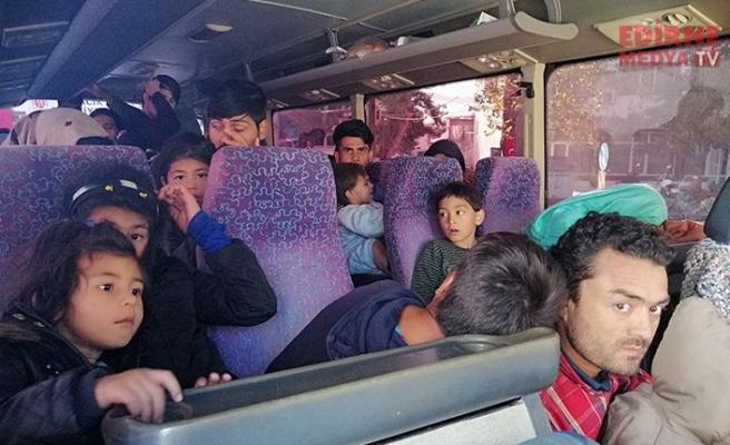 90 düzensiz göçmen yakalandı