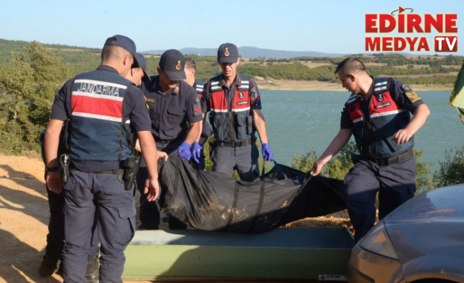 Barajda erkek cesedi bulundu