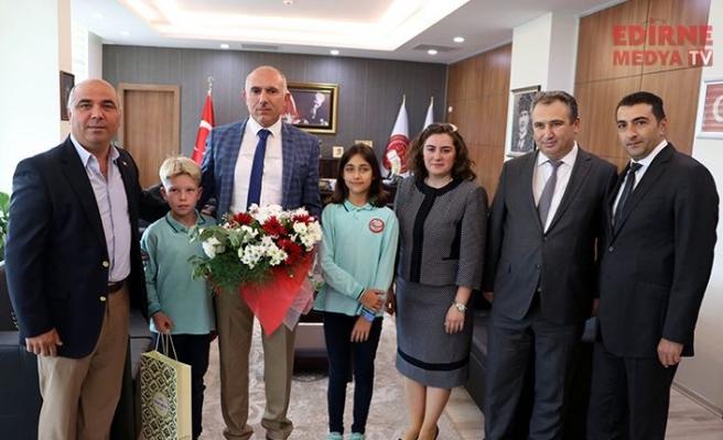 Cumhuriyet Başsavcısı Karakoç'a ziyaret