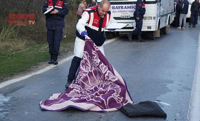 Otomobilin çarptığı yaya öldü!