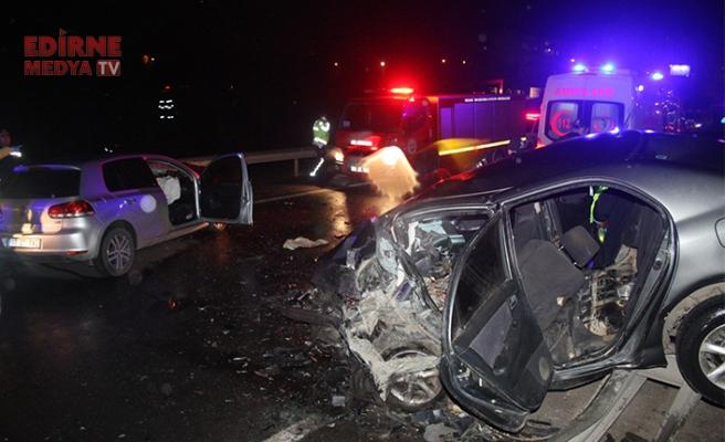 Feci kazada 3 kişi öldü
