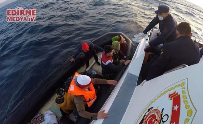 Göçmenleri Türk sahil güvenliği kurtardı