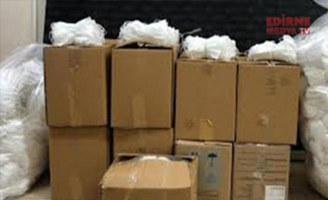 573 bin 750 maske ele geçirildi