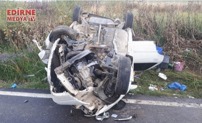 Feci kazada 3 kişi yaralandı
