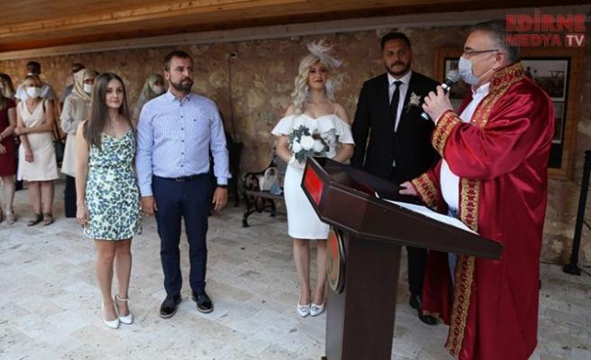 Atatürk Evi'nde İlk Nikah